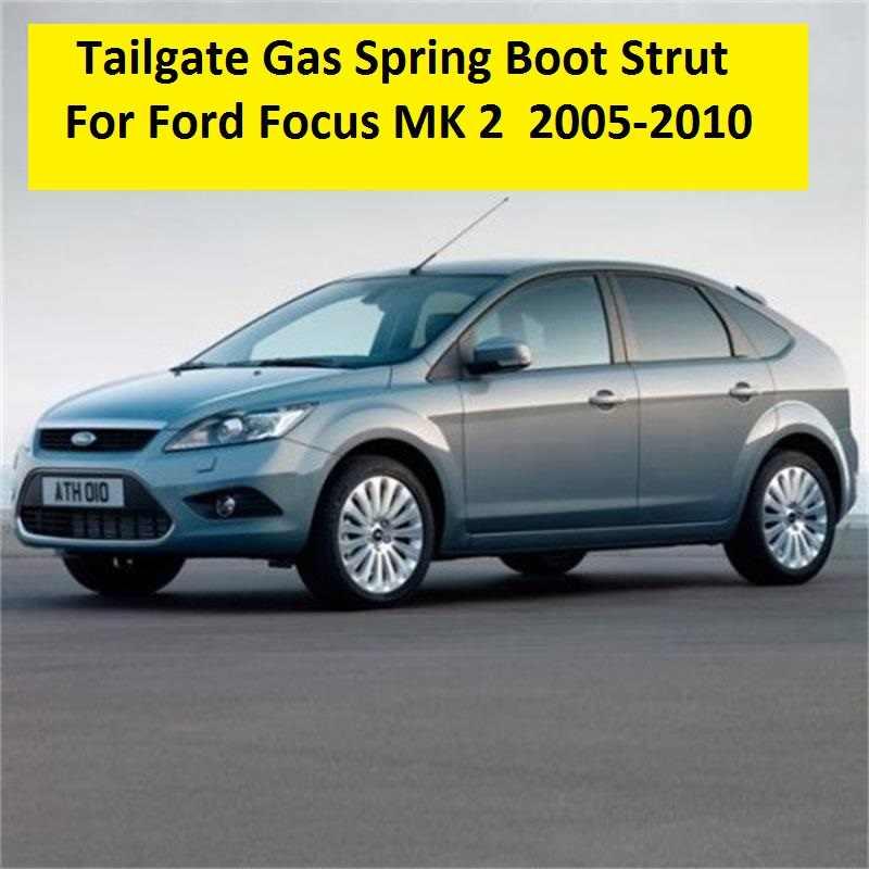 3 года гарантии 2 шт. для Ford Focus MK2 хэтчбек 2005 2006 2007 2008 2009 2010 Новый крышка багажника газовые стойки газовая пружина с подарком
