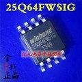 Бесплатная доставка W25Q64FWSSIG W25Q64FWSIG 25Q64FWSIG 25Q64, 64M-BIT FLASH 8 М X 8 SPI АВТОБУС SERIAL EEPROM