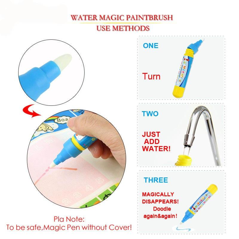 29X19cm-Mini-Water-Drawing-Mat-Toys-for-Children-Aquadoodle-Mat1-Magic-PenWater-Drawing-BoardBaby-Play-Mat-5