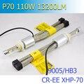 2020 самый мощный все в одном CR-EE XHP-70 5000K 6000K 55W 6600Lm H4 H7 H11 9005 9006 9012 автомобилей светодиодный фары с вентилятором