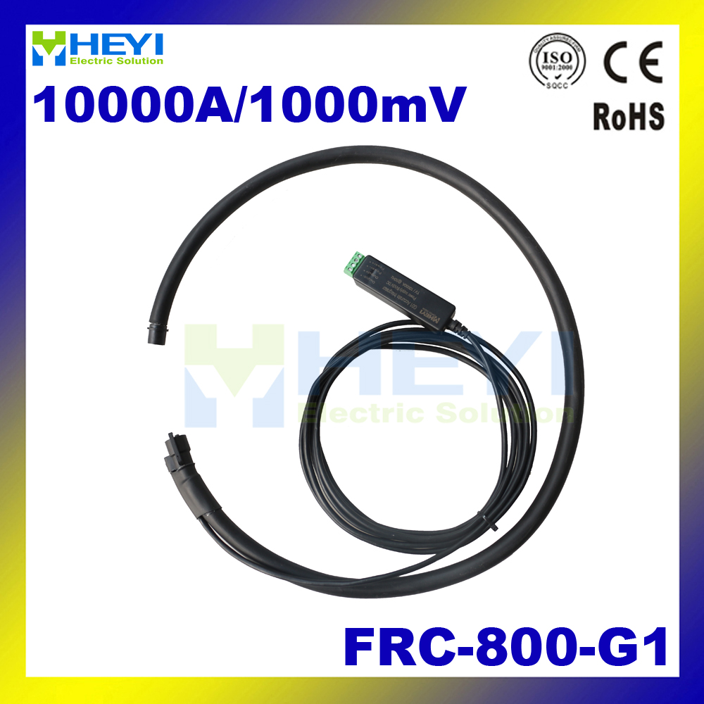 Big hole ct bobina de Rogowski FRC-800-G1 10000A/1000mV com integrador de rogowski flexível probe