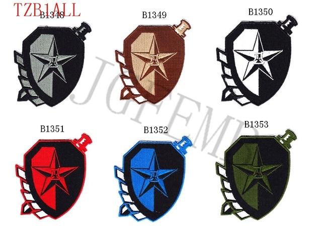 China Exército O lobo Specia Força moral tático militar Bordados patch  Emblemas 5a7f77b5003