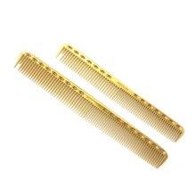 Más nuevo peluquería peine peluquería profesional peine de titanio Y-335 en 3 colores 2 tamaños pelo corte ideal para peluquería
