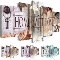 5d diy Diamond embroidery Home Sweet Home diamond painting Cross Stitch full drill Rhinestone mosaic home decoration KBL