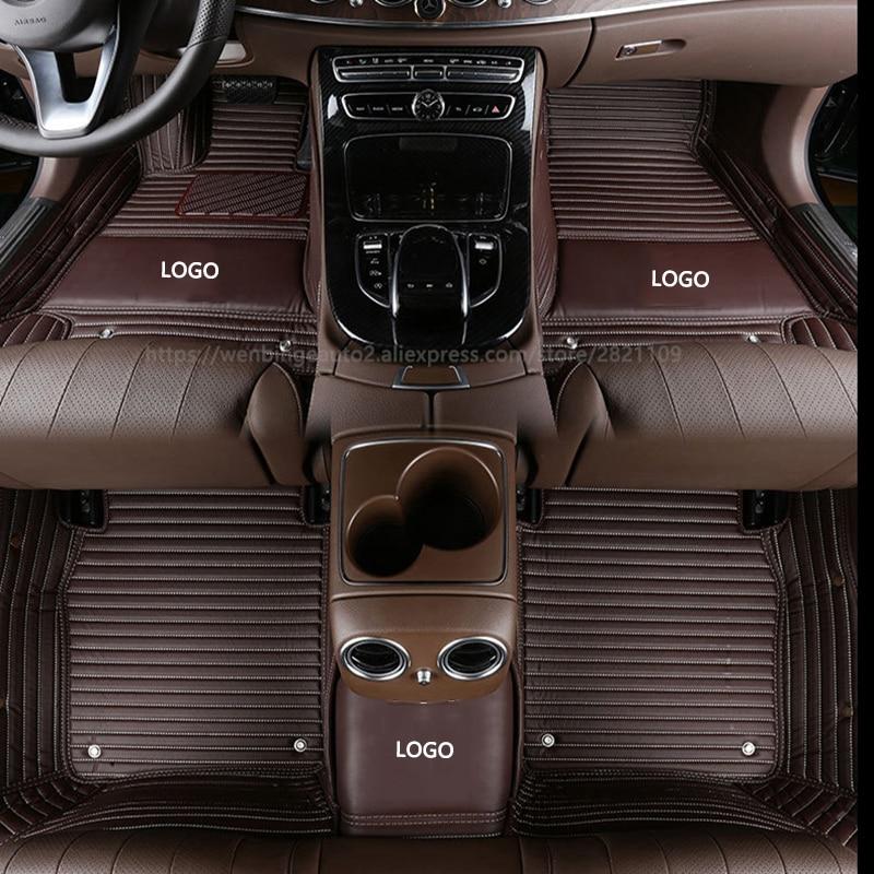 Custom car floor mats 100% fits for Lincoln All Models Navigator MKZ MKS MKC MKX MKT2/3/5 MKZ car accessorie styling foot mats