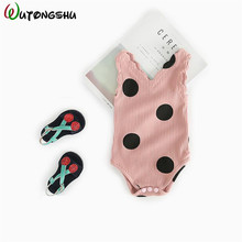 Baby GirlLong Sleeve Rompers