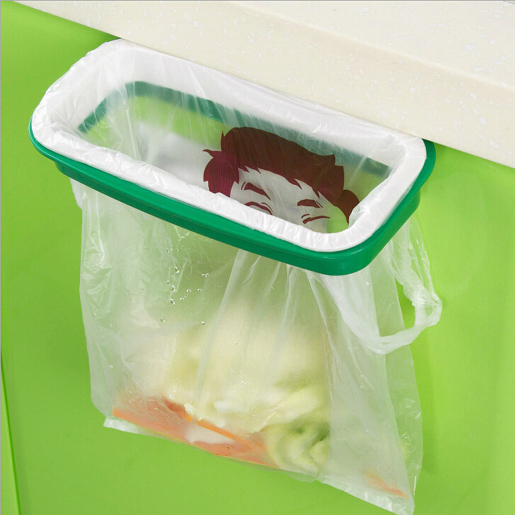 Special Section 2018 Hot Eco-friendly Garbage Bag Stand Litter Bag Holder Kitchen Cupboard Drawer Door Waste Bin Bucket Dustbin Novelty Product Home & Garden