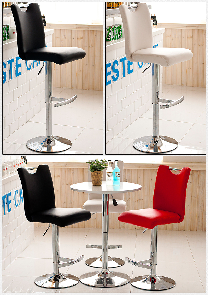 Europe and the United States popular hair salon chair show exhibition stool free shipping the silver chair