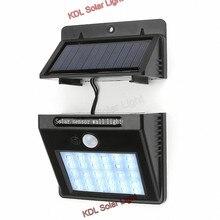 Energia Solar LEVOU Parede de luz Solar Ao Ar Livre LED Lâmpada de Rua luz Solar Com Sensor de Movimento PIR Segurança Noite Quintal Caminho lâmpada do jardim