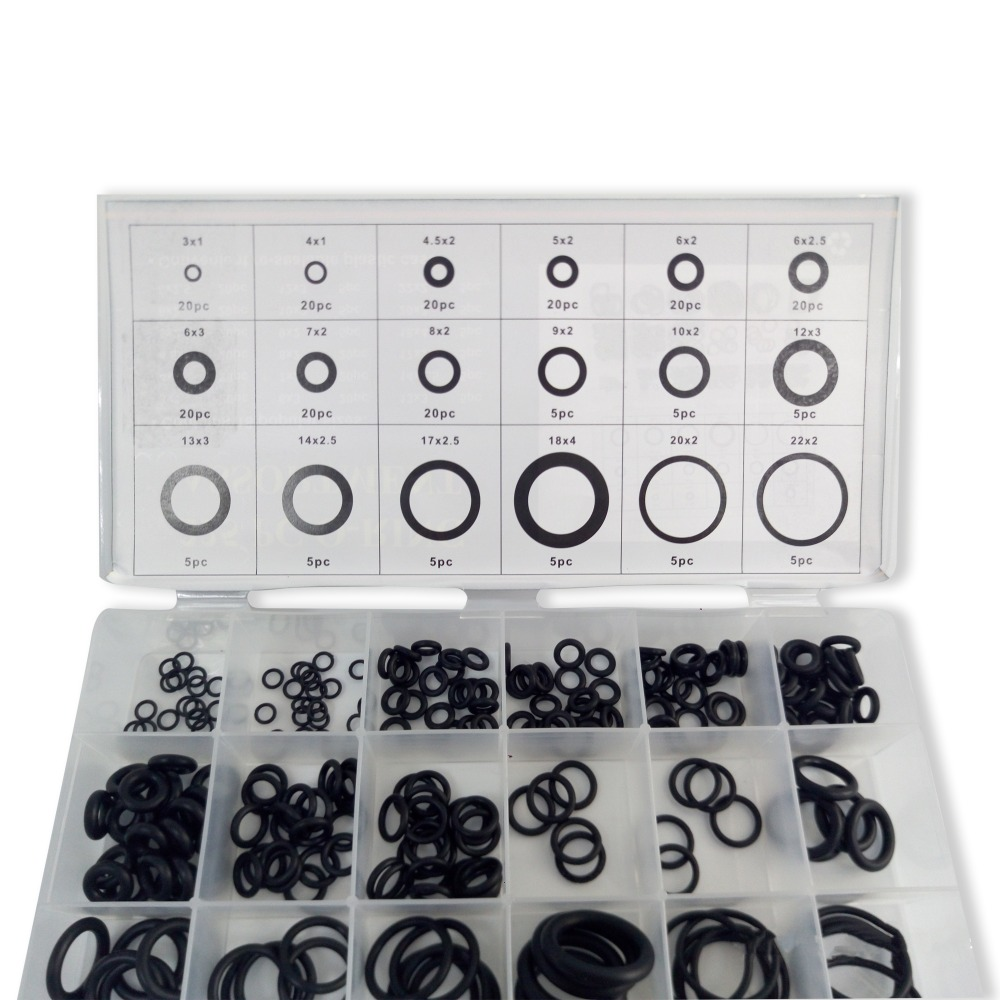 AC9000 PCP Paintball Silicone O-ring Black Gasket Replacements Sealing O-rings Quick Couplers Fitting 15 Sizes ACECARE