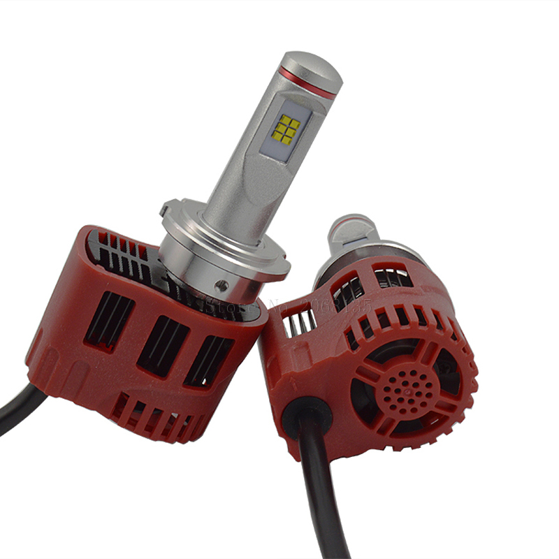 NEW 2PCS P6 Canbus No Error 45W H4 Led Headlight Plug And Play Waterproof design with ZES LED CHIPS 3000K 4000K,5000K, 6000K p6 philips chips 45w 4500lm led car headlight 9012 6000k led