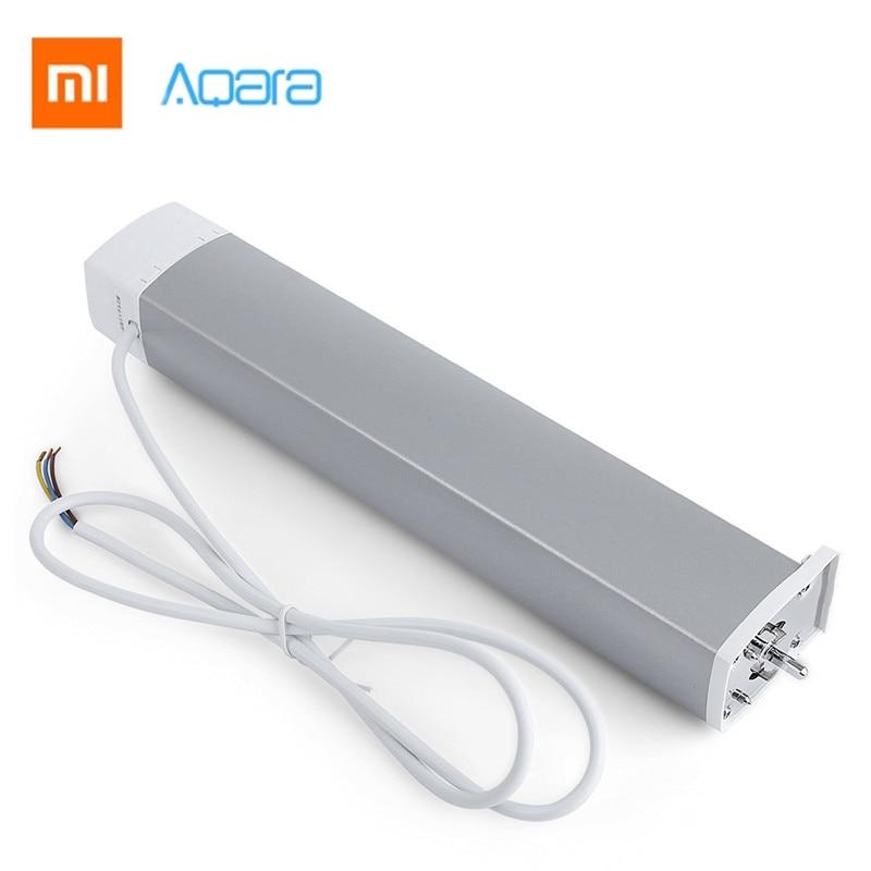 Xiaomi Aqara ZiGBee Version Intelligent Smart Curtain Motor Wifi Xiaomi Smart Home Device Mi Home Smarphone APP Remote Control