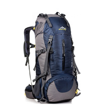 50L Waterproof Travel Hiking Backpack Sports Bag For Women Men, Outdoor Camping Hiking Climbing Bag, Mountaineering Rucksack