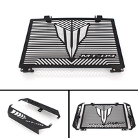 Black Motorcycle Accessories Radiator Guard Protector Grille Grill Cover For YAMAHA MT 09 MT 09 MT09 TRACER Free shipping