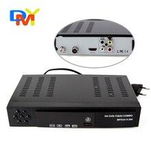 2016 NOUVEAU HD DVB-S2 + T2 récepteur satellite, compatible DVB-S/Mpeg-4, soutient BISS Key dvb s2 dvb s satellite récepteur média