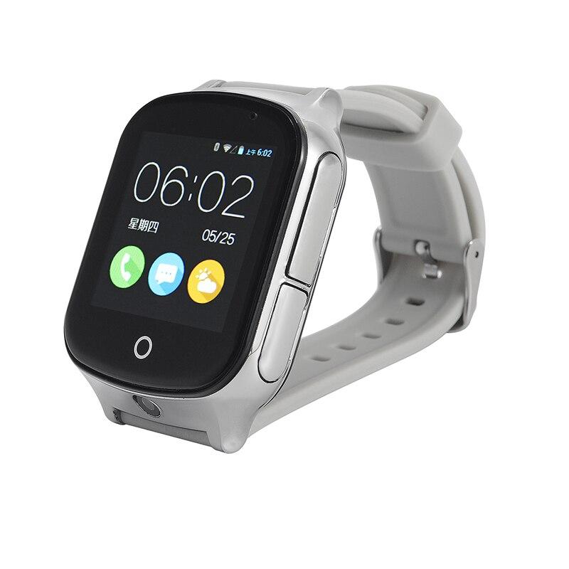 696 A19 LBS + GPS + emplacement WIFI montre de sécurité intelligente pour bébé appel SOS pour surveiller vos enfants et enfants suivi Smartwatch support SIM