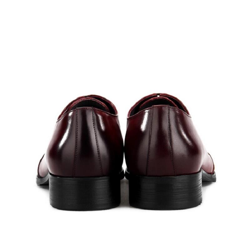 Italienische Aus Mycolen Masculino Männer Schwarzes wein Adulto Mode Leder rot Oxford Schuhe Kleid business Echtem Schwarz Tenis qxxY7nUw