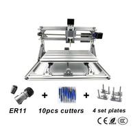 CNC3018 With ER11 Pcb Milling Machine Diy Cnc Engraving Machine Wood Carving Machine GRBL Control