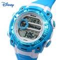 Disney Дети Кварцевые Часы Цифровые часы Известная Марка 50 М Водостойкий Девушки Парни Часы Кварцевые коль саат баян montre cuir