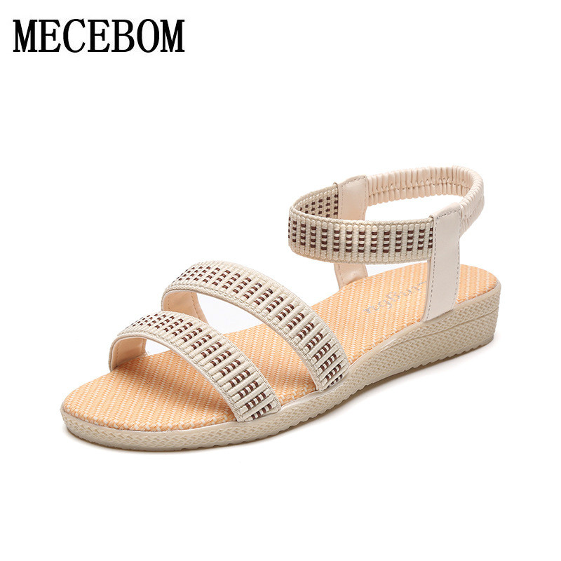 Women Shoes Sandals Comfort Sandals Summer Flip Flops 2017 Fashion High Quality Flat Sandals Gladiator Sandalias Mujer 2628W summer high quality women flats sandals plus size 34 43 new fashion casual ladies sandalias comfort mujer gladiator woman shoes