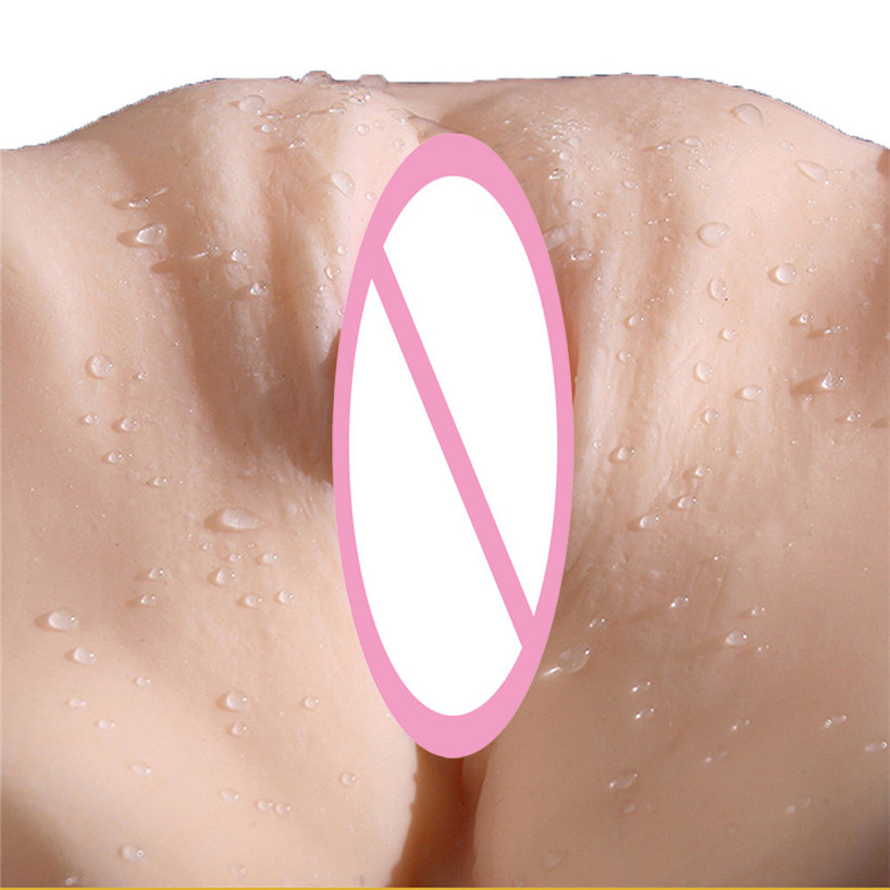 Wonderful Male Masturbators Toys 3D Realistic Big Ass Silicone Sex Dolls Vagina Pussy For Men Dec