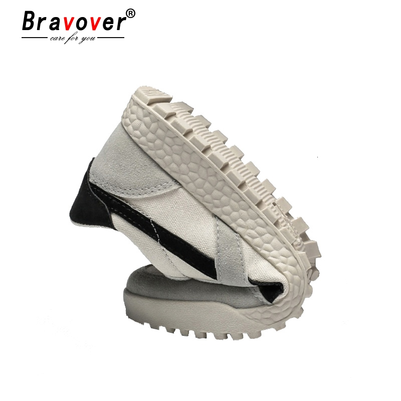 New Fashion Casual Flat Vulcanize Shoes For Men Breathable Lace-up Shoes Footwear Striped Shoes Flax And Cattle Cross Stitching 6