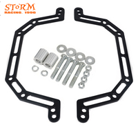 Motorcycle Front Shock Lowering Adapter Kit For Polaris ATV Predator 500 A Arms