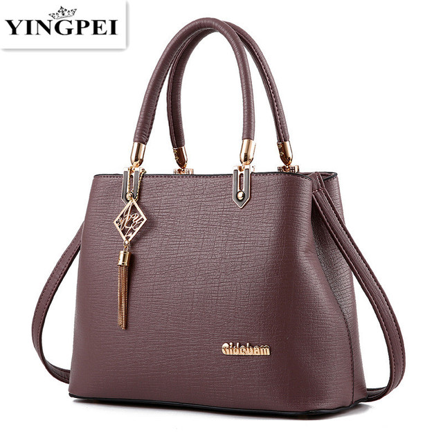 Yingpei Women Bag Vintage Casual Tote Top Handle Messenger Bags Shoulder Student Handbag Purse