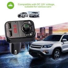 B3 Wireless Transmissor FM Apoio TF Cartão Mãos-livres Bluetooth Chamada MP3 Player Do Carro Dual USB Carregador de Carro de Telefone Celular