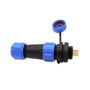 Image 4 - SP1310 SP1312 방수 커넥터 SP13 2pin 3pin 4pin 5pin 6pin 7pin 9pin IP68 커넥터 플러그 및 소켓