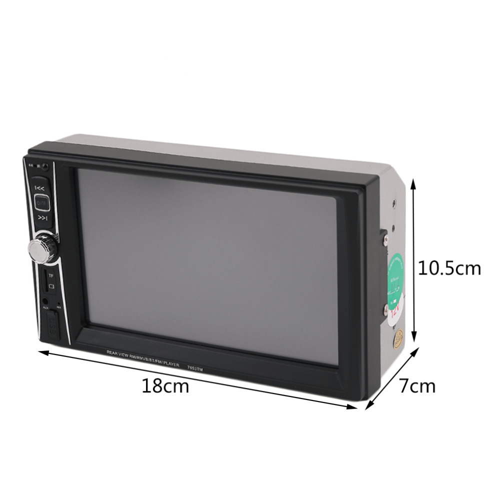 ФОТО Hot! Professional Touch Screen Car Radio Mp5 Player Bluetooth Mp5 Audio 1080P Movie Support Rear View Camera 2 Din Car Audio