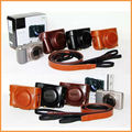 PU Leather Camera Case Cover bag for Sony HX60 HX60V