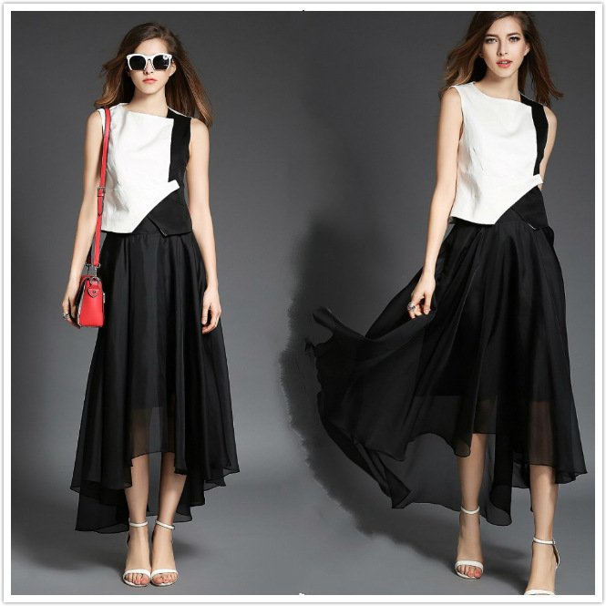 Formal Top And Skirt - Skirts