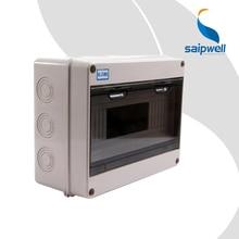 Saip 250*195*110 мм Хорошее качество серый IP67 Электрический ABS водонепроницаемый распределительная коробка водонепроницаемая распределительная коробка