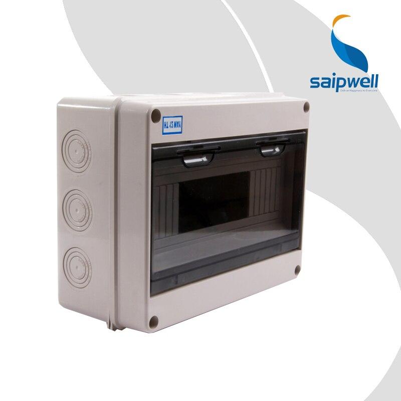 2014 Saip 250*195*110mm gute qualität Grau IP67 Elektrische ABS Wasserdichte Box Junction Box Wasserdichte Verteilung box