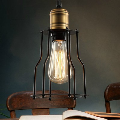 40W America Retro Vintage Pendant Light Fixtures In Style Loft Industrial Lamp Indoor Lighting Metal Lampshade