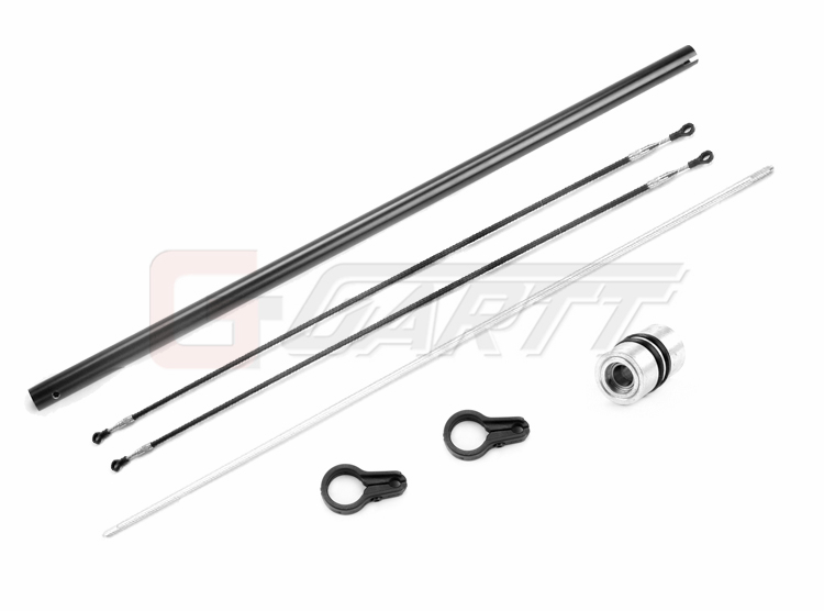Gartt 450L Torque Tube Tail Boom(Black) Set for Trex 450L Helicopter gartt gt500 plastic tail rotor control set 100