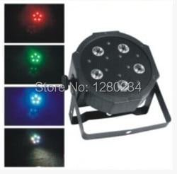 Tanie sprzęt dj 5 sztuk * 10 W RGBW 4 W 1 oświetlenie sceniczne led led z płaskim oświetlenia scenicznego do bar disco w Oświetlenie sceniczne od Lampy i oświetlenie na