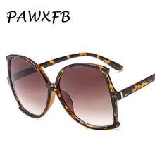 PAWXFB 2018 New Italy Brand Designer PC Frame Square Sunglasses Women Men Vintage Leopard Luxury Eyewear Gafas de sol