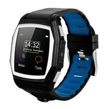 Heißer verkauf! Bluetooth Smart Watch Sportuhr Herzfrequenz GPS Call Reminder Armbanduhr Schlaf-monitor Smartwatch Tragbare Intelligente Ele
