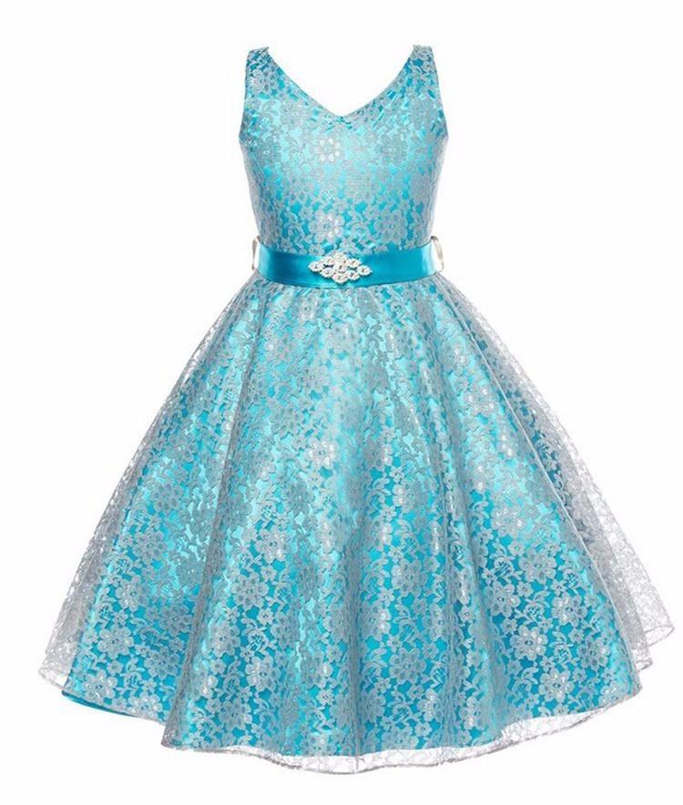 summer girls party dress new designer children teenagers prom ceremonies gowns dresses birthday princess dress 12 years