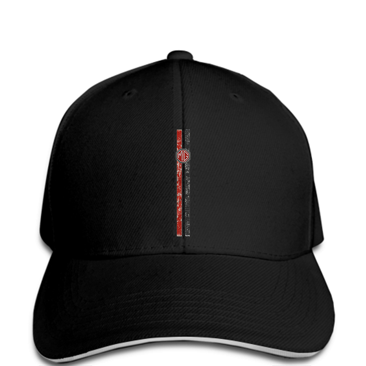 Treble Clef Embroidered Polo Baseball Cap Dad Hat