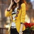 Primavera para mujer de diseño corto de primavera y otoño más tamaño ropa de abrigo de manga larga delgada capa de las mujeres de la chaqueta 35