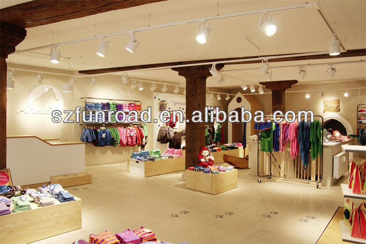 92e2c72dacbdf Kid Clothing Display counter Kids shop wooden decoration for kids clothing  showcase retail store with LED lighting on Aliexpress.com   Alibaba Group