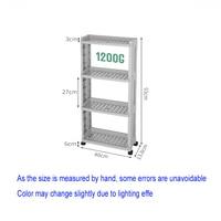 The Goods For Kitchen Storage Rack Fridge Side Shel Removable With Wheels Bathroom Organizer Gap 4 layer Space Saving Organizer