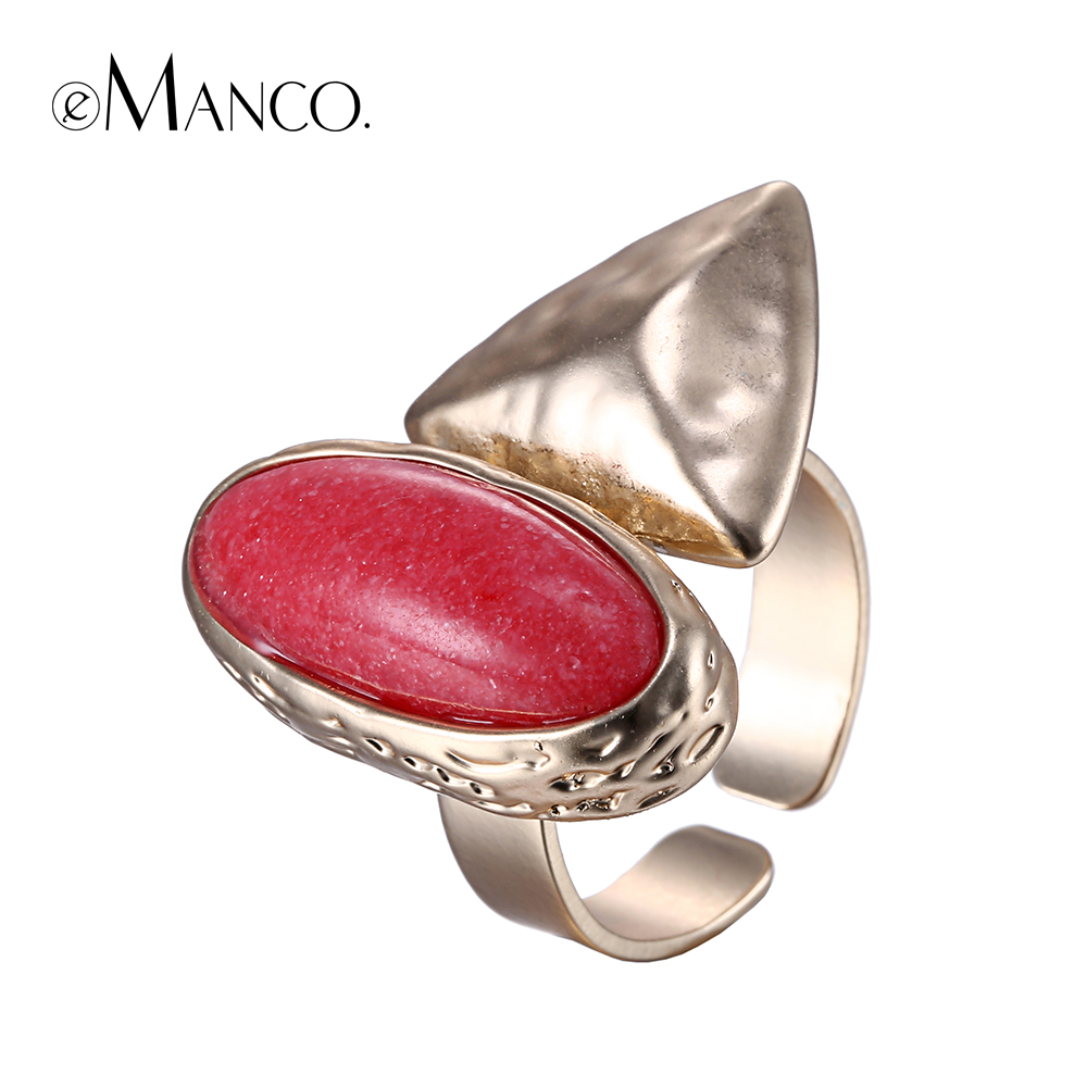 women copper plated rings zircon party gold fashion platinum en rose classic maroon flower