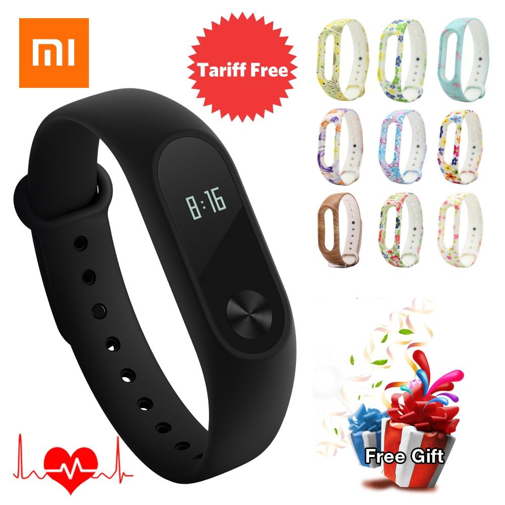 Original Xiaomi Mi Band 2 Miband 2 Smart Bracelet Wristband Waterproof IP67 Fitness Tracker Sleep Passometer