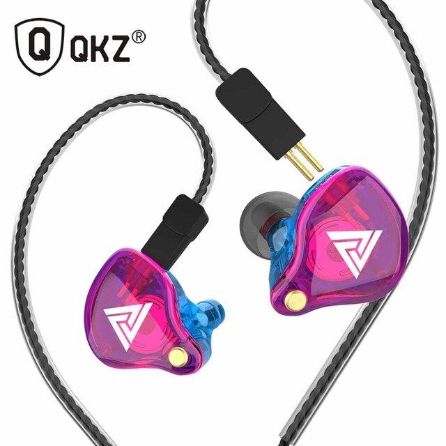 Più nuovo QKZ VK4 ZST heavy bass wired cuffia auricolare HiFi auricolare ferro musica di controllo del movimento di scambio cavo Bluetooth
