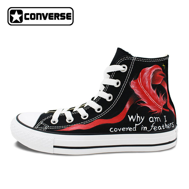 060e1a88d060 Canvas Sneakers Men Women Converse Shoes Custom Design Hand Painted ...
