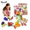 Hello Kitty Lindo Juguetes De Plástico De Cocina Vegetal Corte De Hamburgo Juguetes Para Niños Juegos de imaginación Juguetes Para Bebés Juguetes de Cocina Para Niños